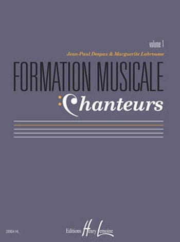 Formation Musicale Chanteurs - Volume 1 - laflutedepan.com