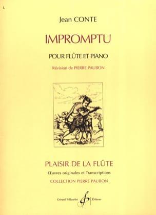 Impromptu Jean Conte Partition Flûte traversière - laflutedepan