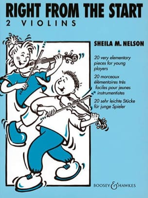 Right from the Start - 2 Violins Sheila M. Nelson laflutedepan