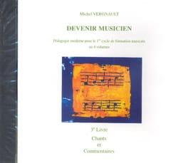 CD - Devenir musicien 3ème Livre Michel Vergnault laflutedepan