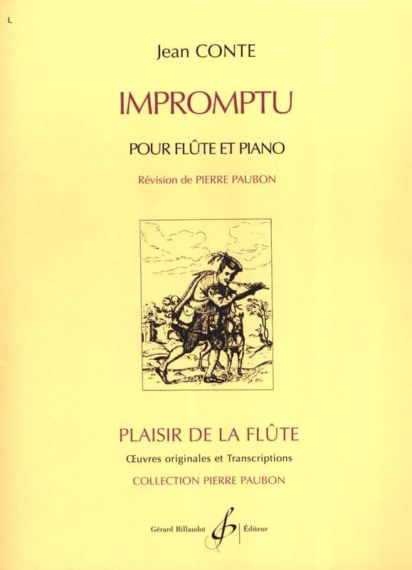 Impromptu - Jean Conte - Partition - laflutedepan.com