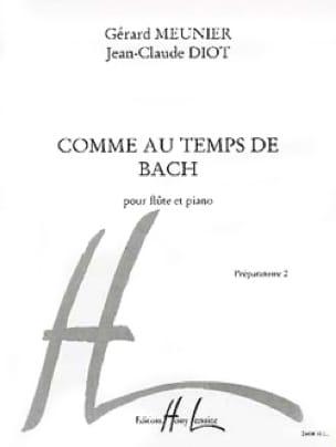 Comme au temps de Bach - laflutedepan.com