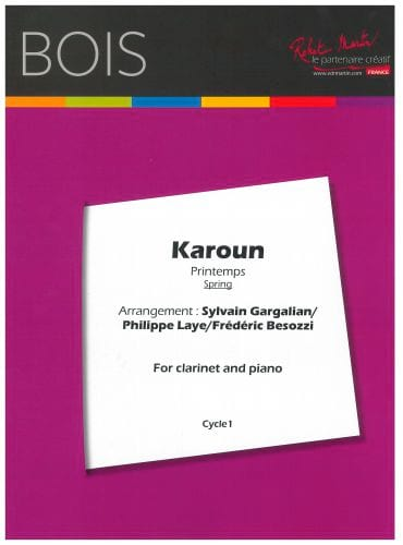 Karoun - Clarinette et Piano - Traditionnel - laflutedepan.com