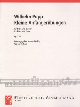Kleine Anfängerübungen Op. 258 - Wilhelm Popp - laflutedepan.com