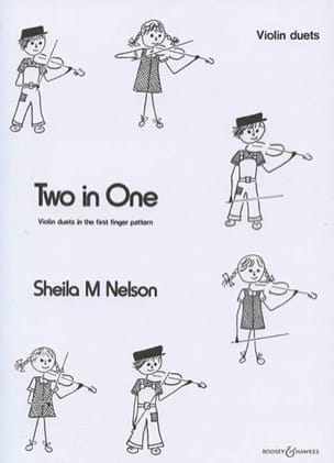 Two in One - Violin duets Sheila M. Nelson Partition laflutedepan