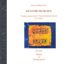 CD - Devenir Musicien 4ème Livre Michel Vergnault laflutedepan