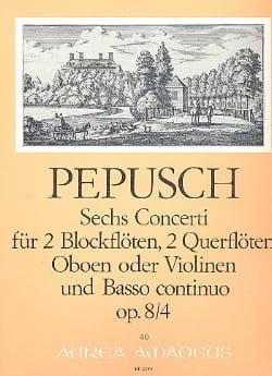 6 Concerti op. 8 : Nr. 4 -2 Blockflöten 2 Flöten u. BC - laflutedepan.com