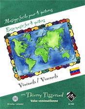 Musique Facile pour 4 Guitares : Vénézuela Traditionnel laflutedepan
