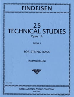 25 Technical Studies Op.14 Volume 1 Theodor A. Findeisen laflutedepan