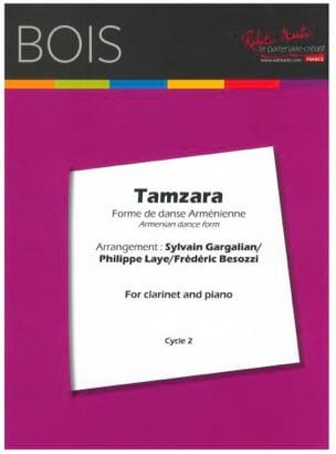 Tamzara - Clarinette et Piano Traditionnel Partition laflutedepan