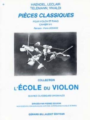 Pièces Classiques Cahier N° 1 - Pierre Doukan - laflutedepan.com