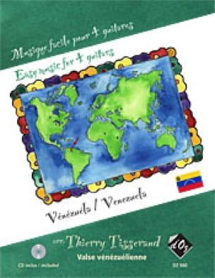 Musique Facile pour 4 Guitares : Vénézuela - laflutedepan.com