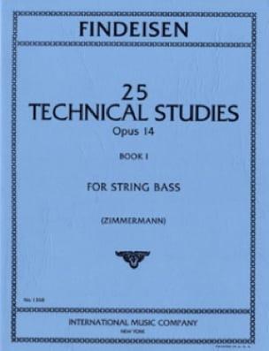 25 Technical Studies Op.14 Volume 1 - laflutedepan.com