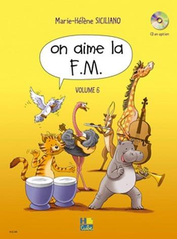 On Aime la FM - Volume 6 - SICILIANO - Partition - laflutedepan.com
