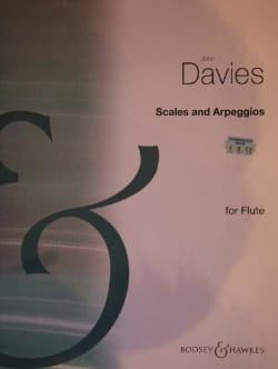 Scales and Arpeggios - Flute John Davies Partition laflutedepan