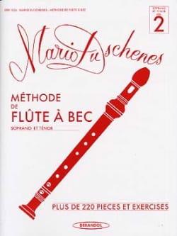 Méthode de Flûte à Bec - Volume 2 - Soprano/Ténor laflutedepan