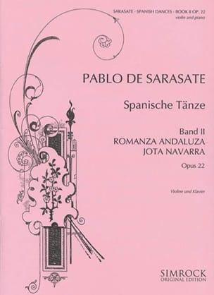 Danses Espagnoles Opus 22 Volume 2 SARASATE Partition laflutedepan