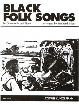 Black Folk Songs - Bernhard Sieber - Partition - laflutedepan.com