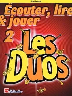 Ecouter Lire et Jouer - Les Duos Volume 2 - 2 Clarinettes laflutedepan