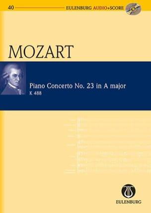 Concerto N°23 En la Majeur Kv 488 MOZART Partition laflutedepan