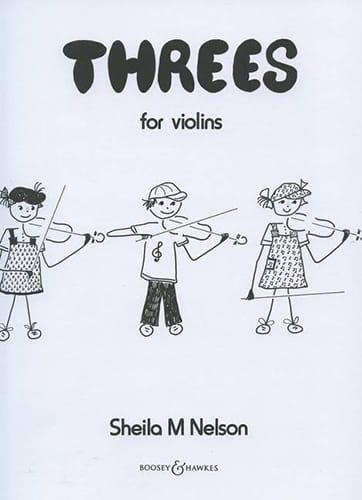 Threes - Violins - Sheila M. Nelson - Partition - laflutedepan.com