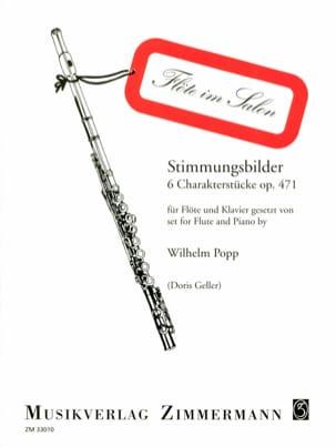 Stimmungsbilder op. 471 - Flöte Klavier Wilhelm Popp laflutedepan