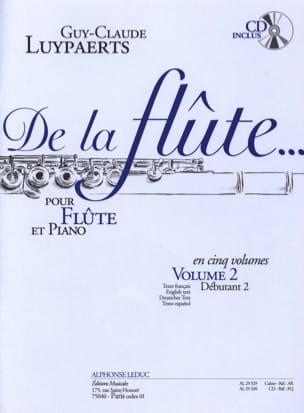 De la flûte... - Volume 2 Guy-Claude Luypaerts Partition laflutedepan