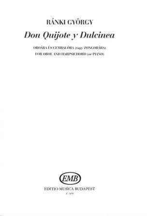 Don Quijote Y Dulcinea György Ranki Partition Hautbois - laflutedepan