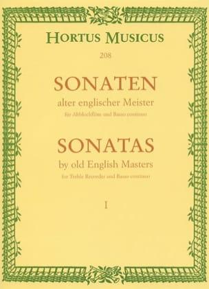 Sonaten alter englischer Meister - Bd. 1 - Altblockflöte u. Bc - laflutedepan.com