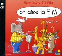 CD - On Aime la FM Volume 4 SICILIANO Partition laflutedepan