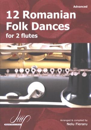 12 Romanian Folk Dances Traditionnels Partition laflutedepan