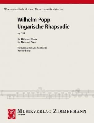 Rhapsodie Hongroise Op. 385 - Wilhelm Popp - laflutedepan.com