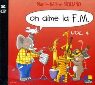 CD - On Aime la FM Volume 4 - SICILIANO - Partition - laflutedepan.com