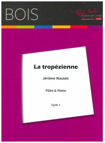 La tropézienne - Jérôme Naulais - Partition - laflutedepan.com