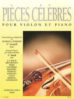 Pièces Célèbres Volume 1 Georges Catherine Partition laflutedepan