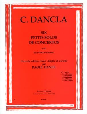 Petit solo de concerto op. 141 n° 2 en la mineur DANCLA laflutedepan