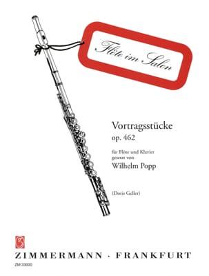 Vortragsstücke op. 462 - Flöte Klavier - laflutedepan.com