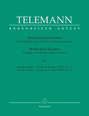 12 Methodische Sonaten - Bd. 6 - Flöte o. Violine u. Bc laflutedepan