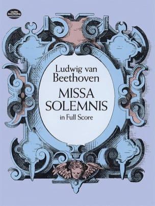 Missa Solemnis - Full Score BEETHOVEN Partition laflutedepan