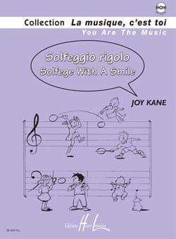 Solfeggio Rigolo Joy Kane Partition Solfèges - laflutedepan