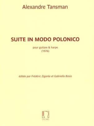 Suite in Modo Polonico Alexandre Tansman Partition 0 - laflutedepan