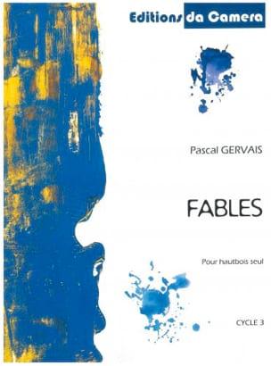 Fables Pascal Gervais Partition Hautbois - laflutedepan