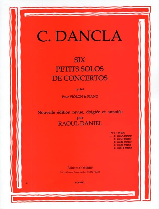 Petit solo de concerto op. 141 n° 2 en la mineur - laflutedepan.com