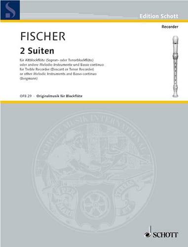 2 Suiten Divertissement - Johann Fischer - laflutedepan.com