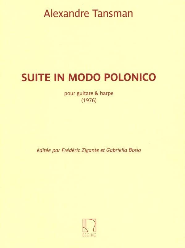 Suite in Modo Polonico - Alexandre Tansman - laflutedepan.com