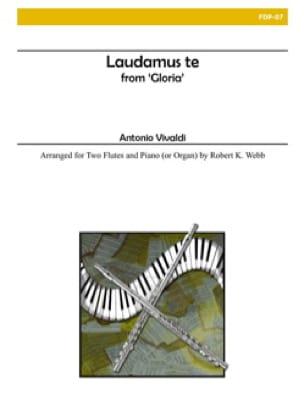 Laudamus te - VIVALDI - Partition - Trios - laflutedepan.com
