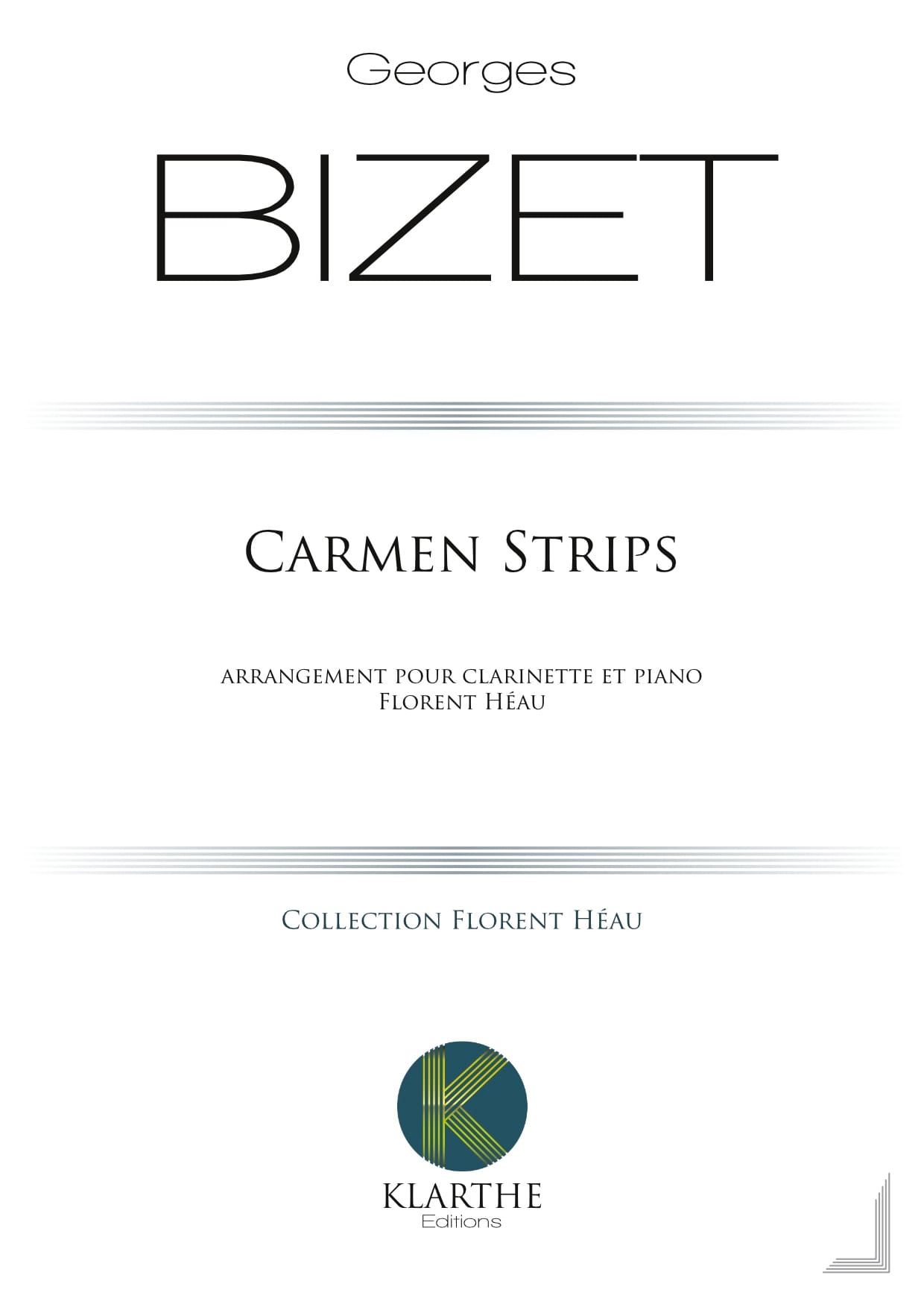 Carmen Strips - BIZET - Partition - Clarinette - laflutedepan.com