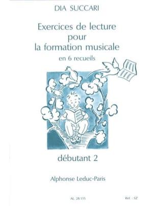 Exercices de lecture -Déb. 2 Dia Succari Partition laflutedepan