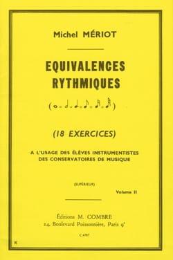 Equivalences Rythmiques Volume 2 Michel Meriot Partition laflutedepan