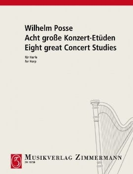 Acht große Konzert-Etüden - Wilhelm Posse - laflutedepan.com